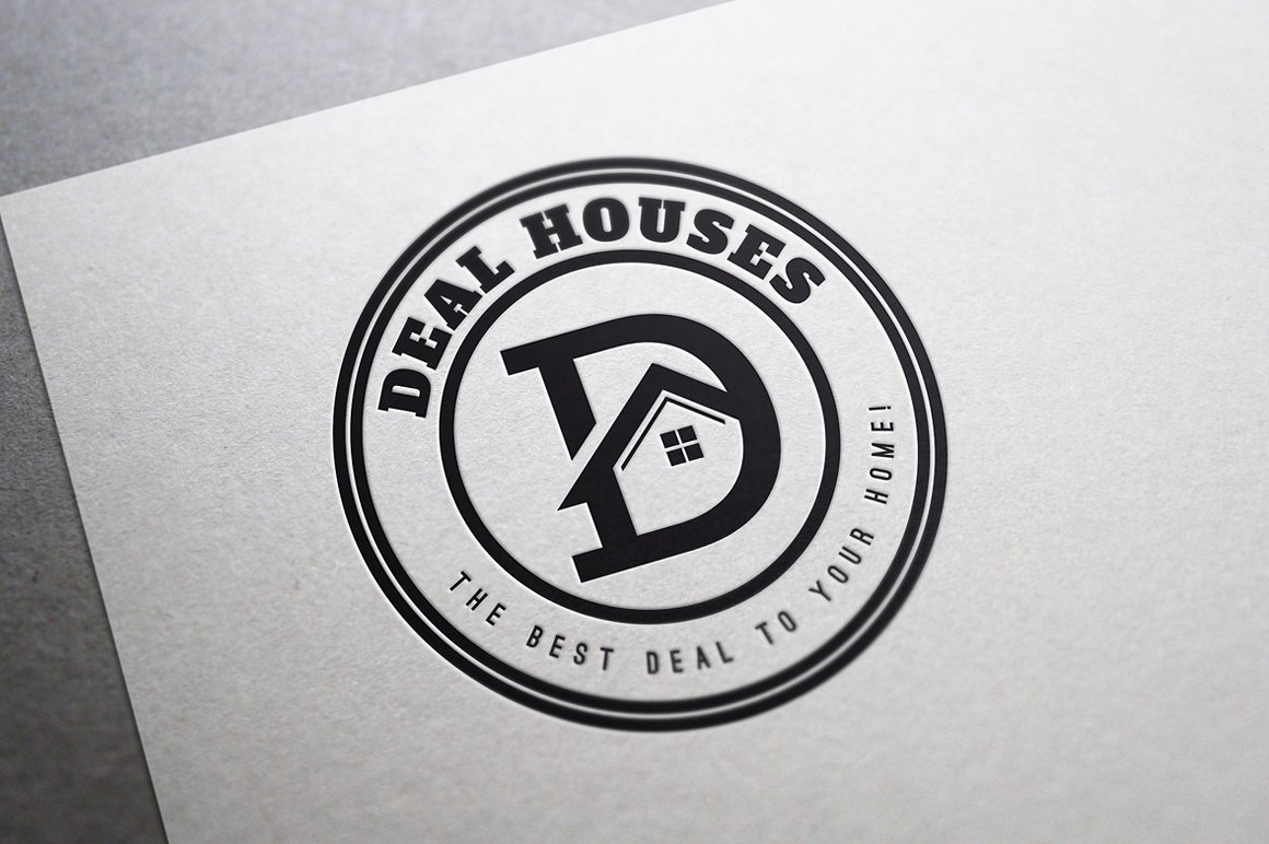 nekilnojamo turto agenturos logotipas