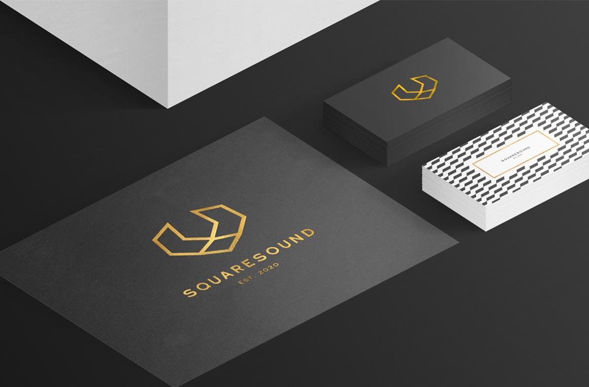 Vizitines korteles ir vektoriniai logotipai